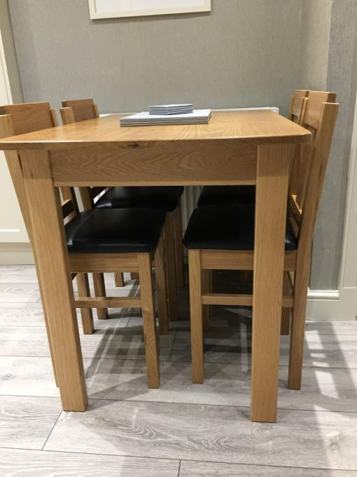 American Oak Dining Table