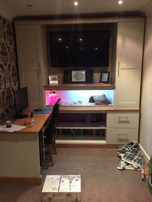 Entertainment Unit / computer Desk
