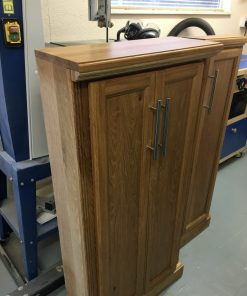 English Oak Cupboards